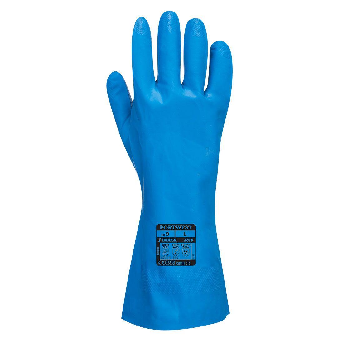 Portwest Handschoenen A814 Voedselindustrie blauw(BL)