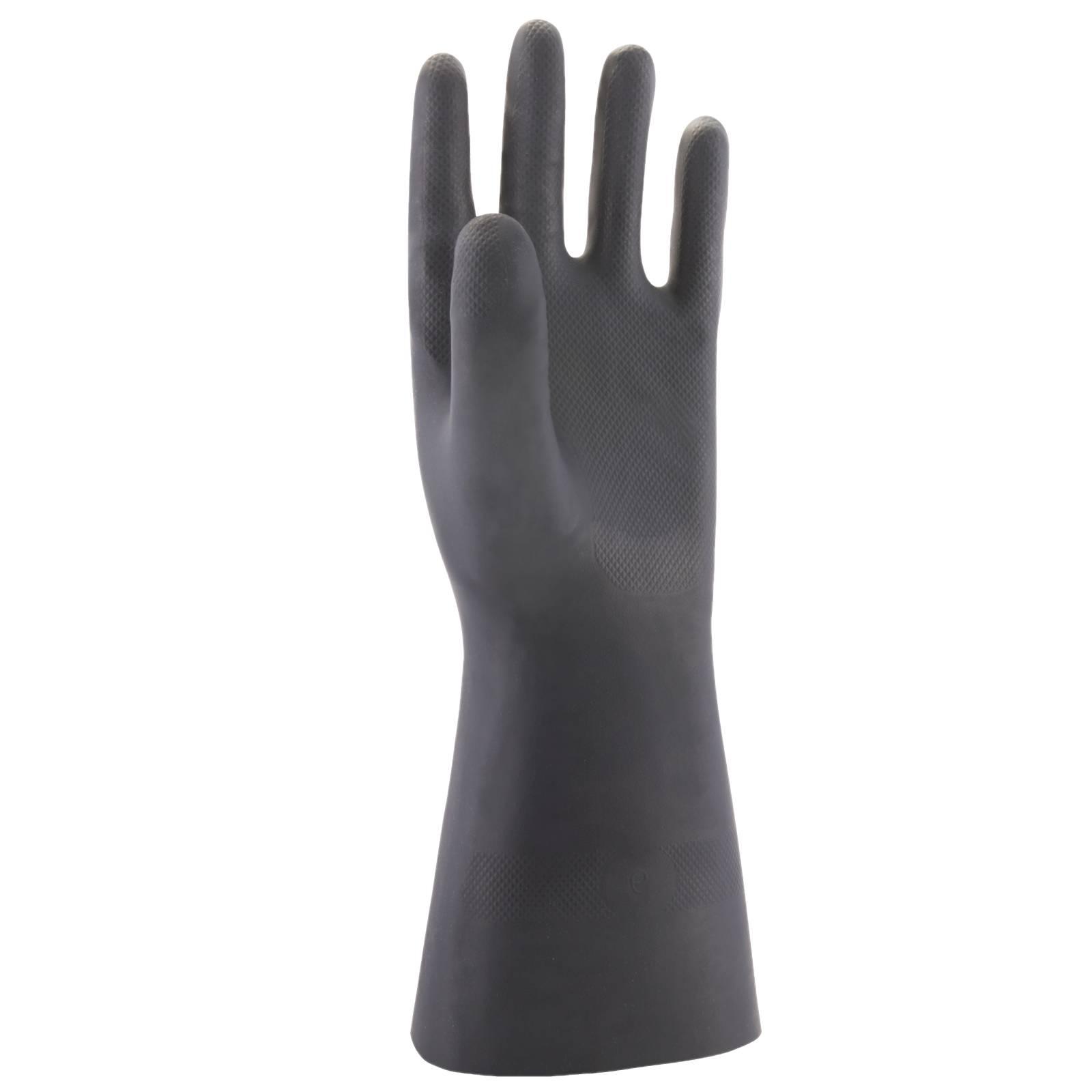 Portwest Handschoenen A820 Chemisch bestendig black(BK)