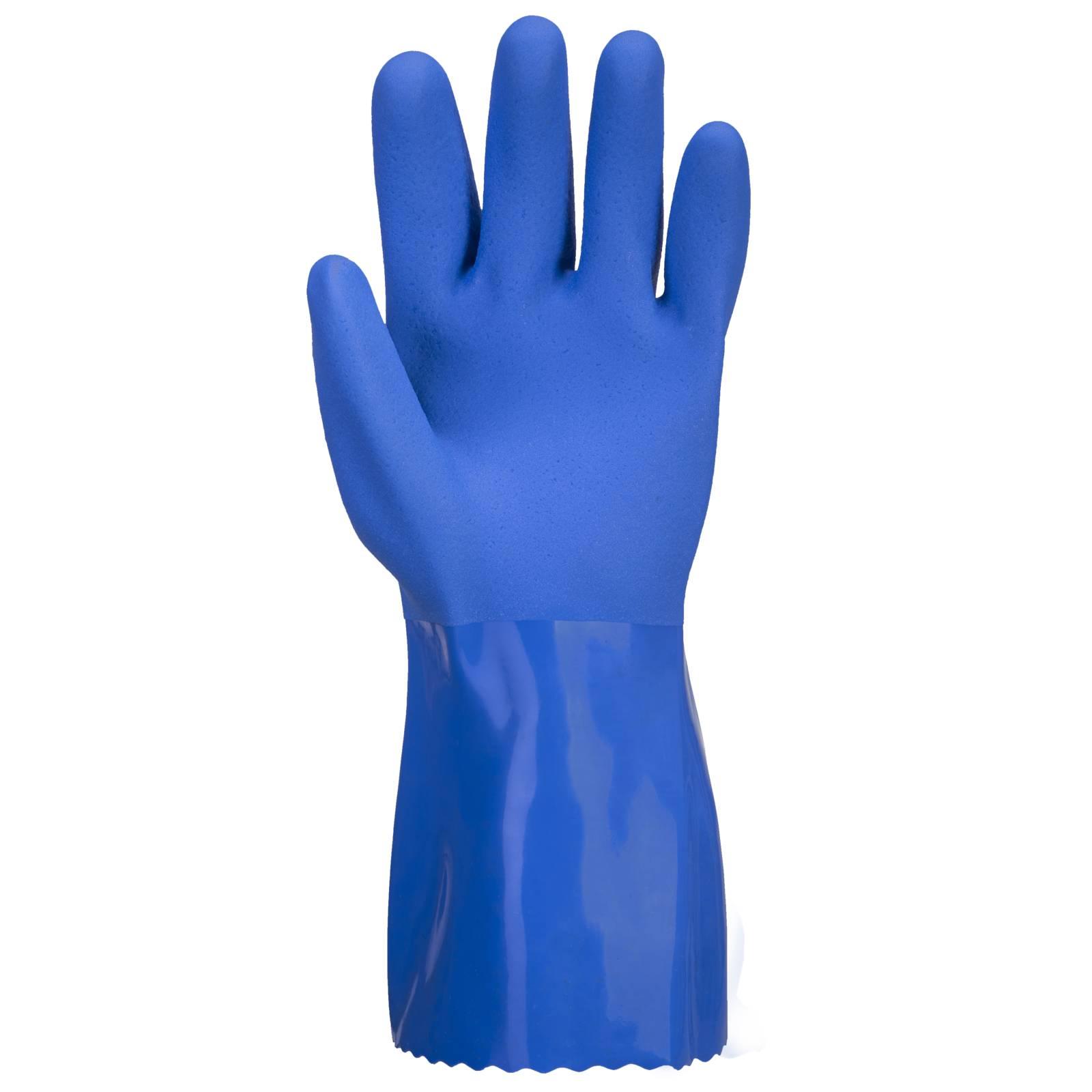 Portwest Handschoenen A881 Chemisch bestendig blauw(BL)