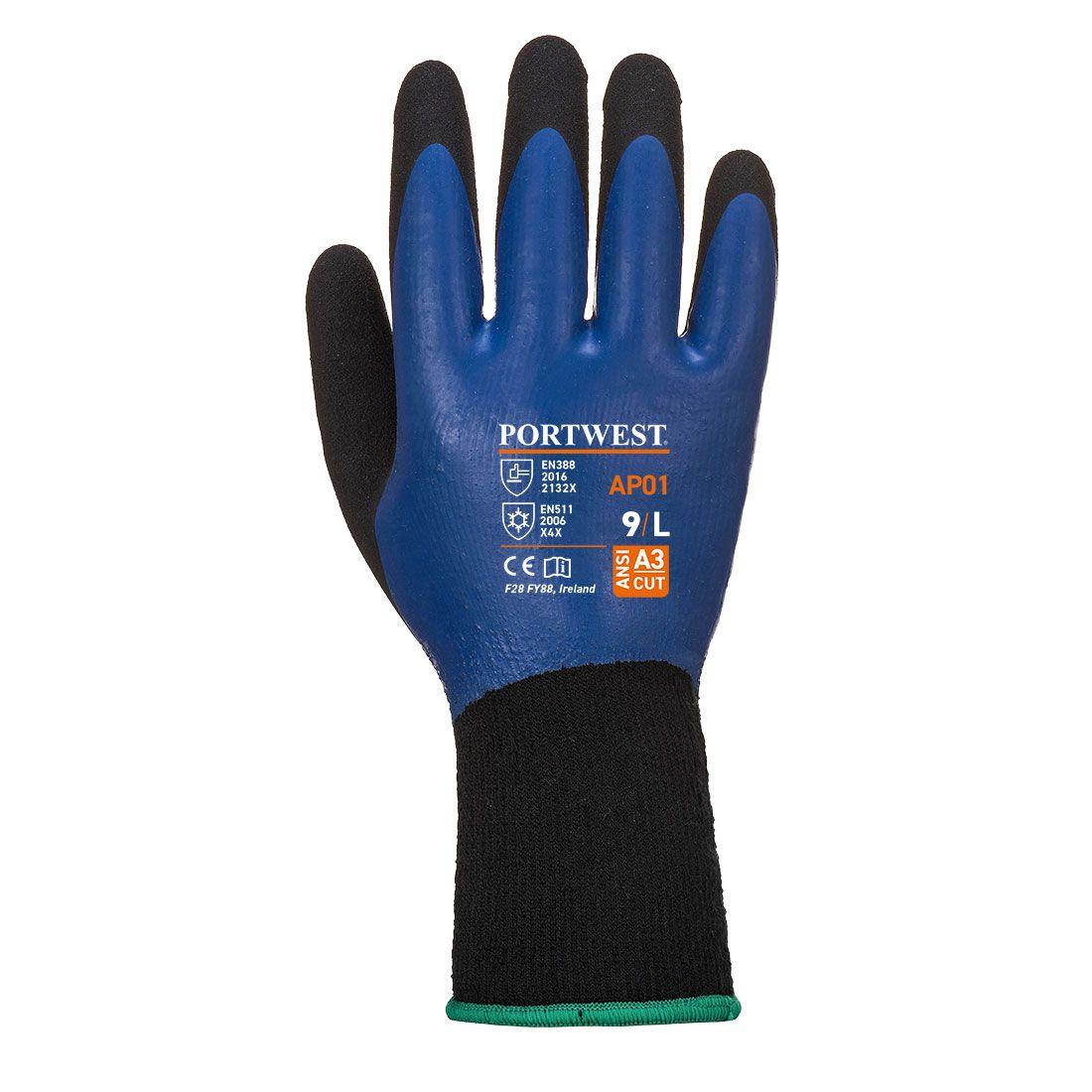 Portwest Handschoenen AP01 blauw-zwart(B8)
