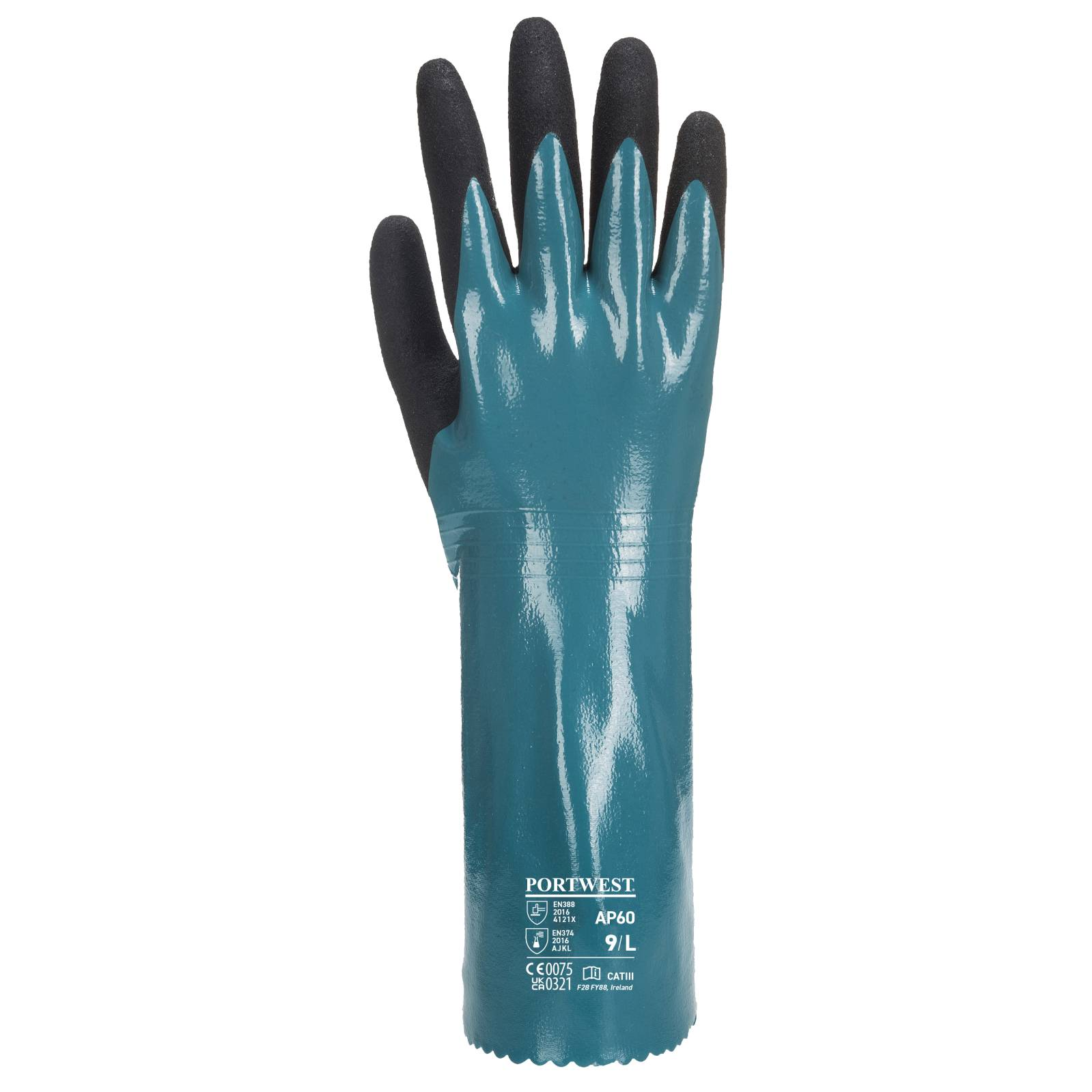 Portwest Handschoenen AP60 blauw-zwart(B8)