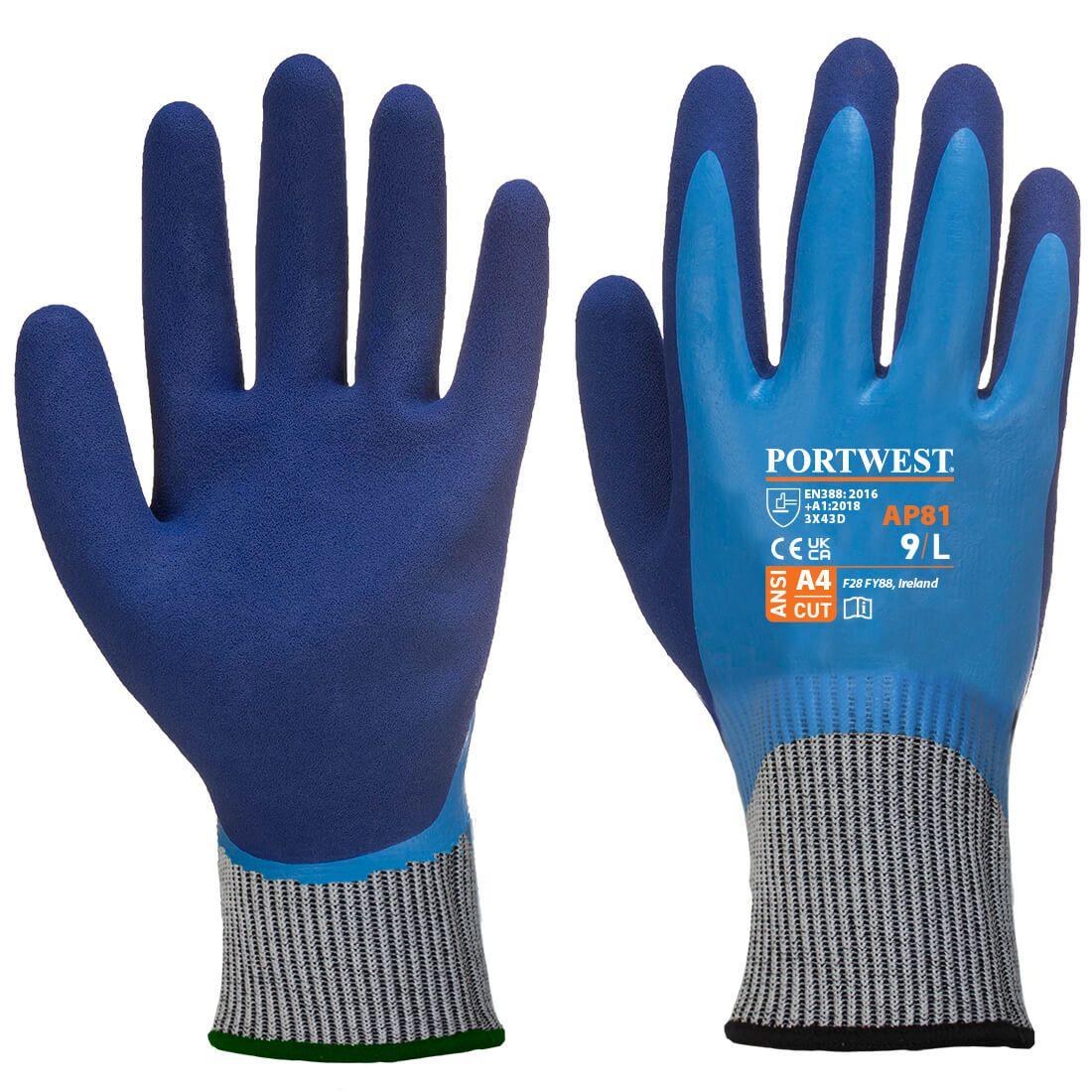 Portwest Handschoenen AP81 blauw(B4)