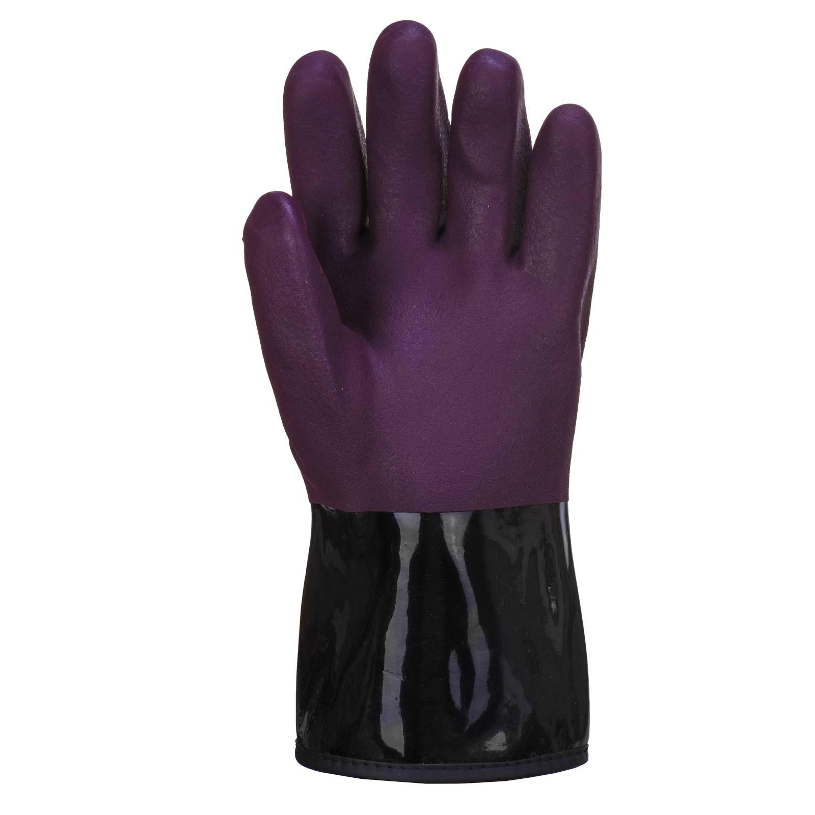 Portwest Handschoenen AP90 paars-zwart(U8)