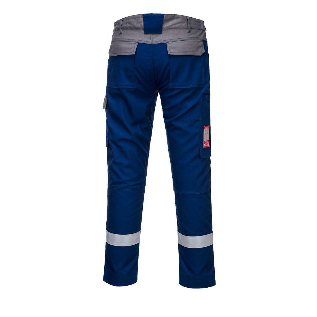 Portwest Bizflame Broeken FR06 korenblauw-grijs(RB)