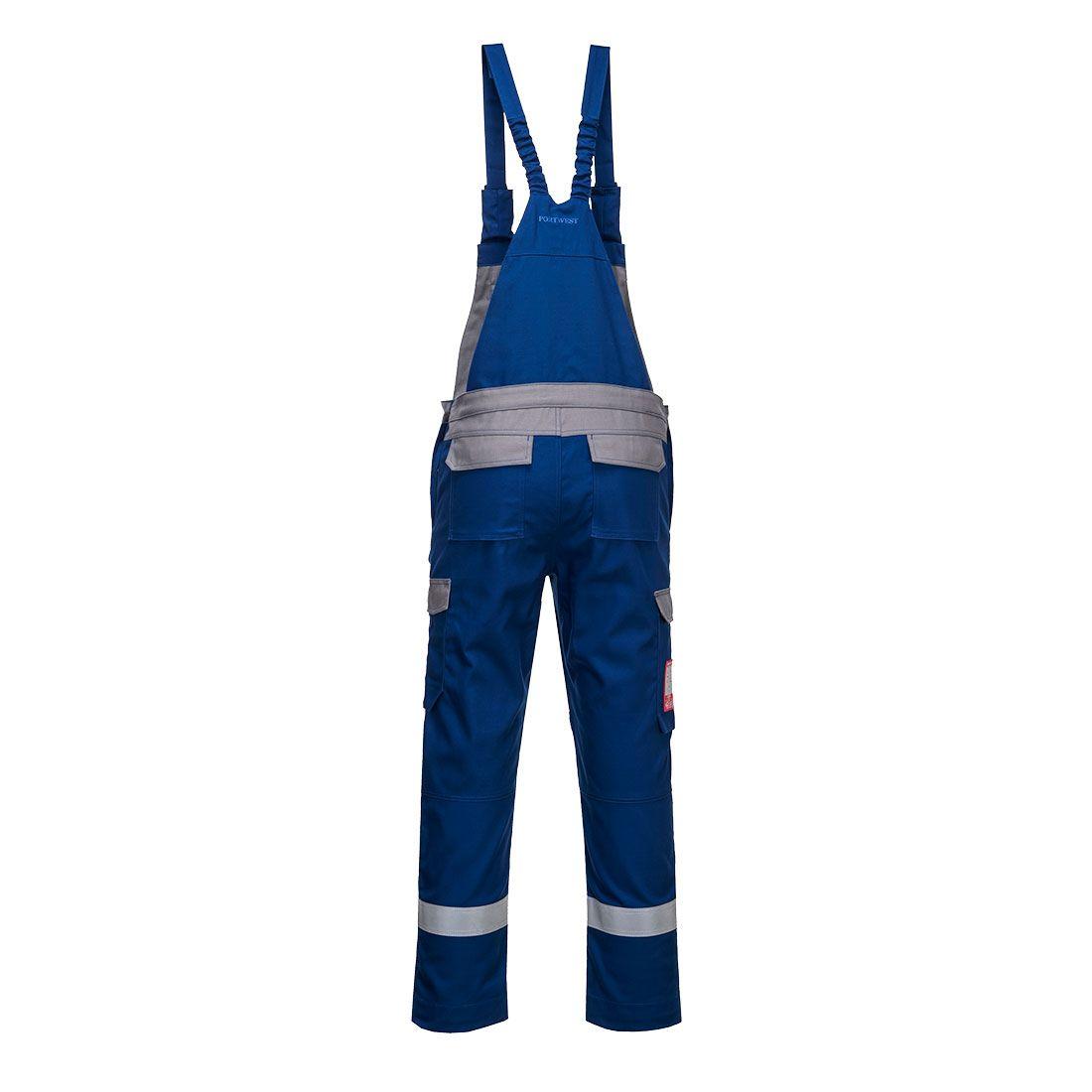 Portwest Bizflame Am. Overalls FR07 korenblauw-grijs(RB)