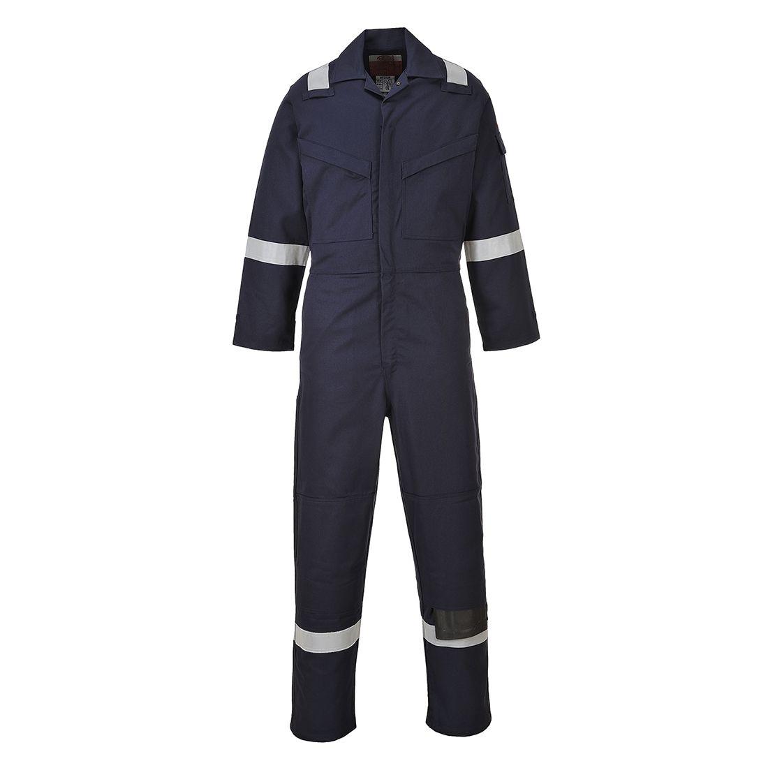 Portwest Bizflame Plus Overalls FR50 Vlamvertragend- antistatisch marineblauw(NA)