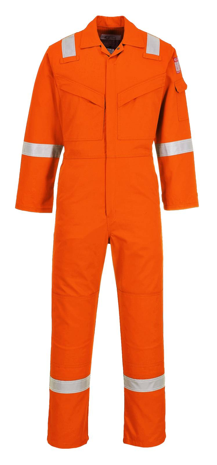 Portwest Bizflame Plus Overalls FR50 Vlamvertragend- antistatisch oranje(OR)