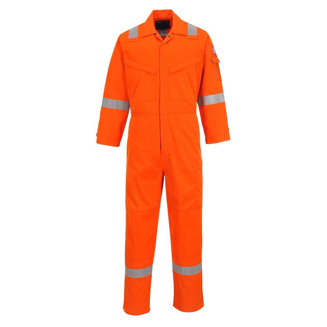 Portwest Bizflame Plus Overalls FR50 Vlamvertragend- antistatisch oranje(OR)