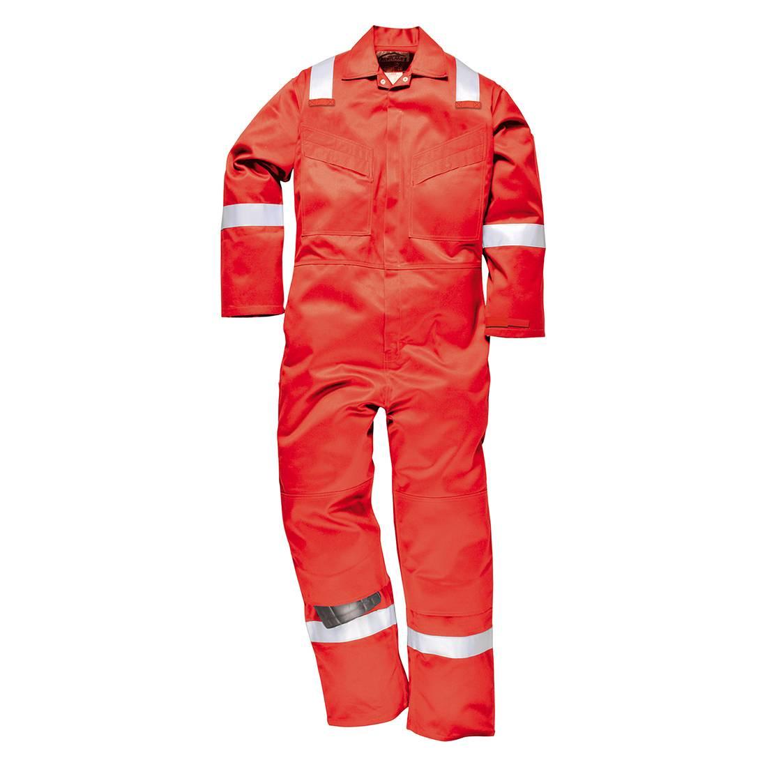Portwest Bizflame Plus Overalls FR50 Vlamvertragend- antistatisch rood(RE)