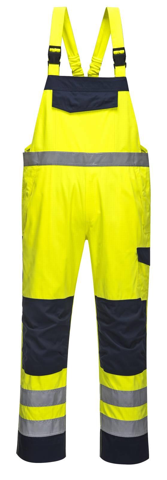 Portwest Amerikaanse overalls MV27 geel-marineblauw(YN)