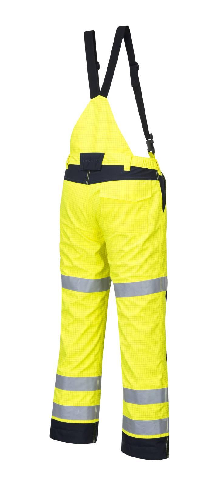 Portwest Am. Overalls MV71 Multinorm- ARC geel-marineblauw(YN)