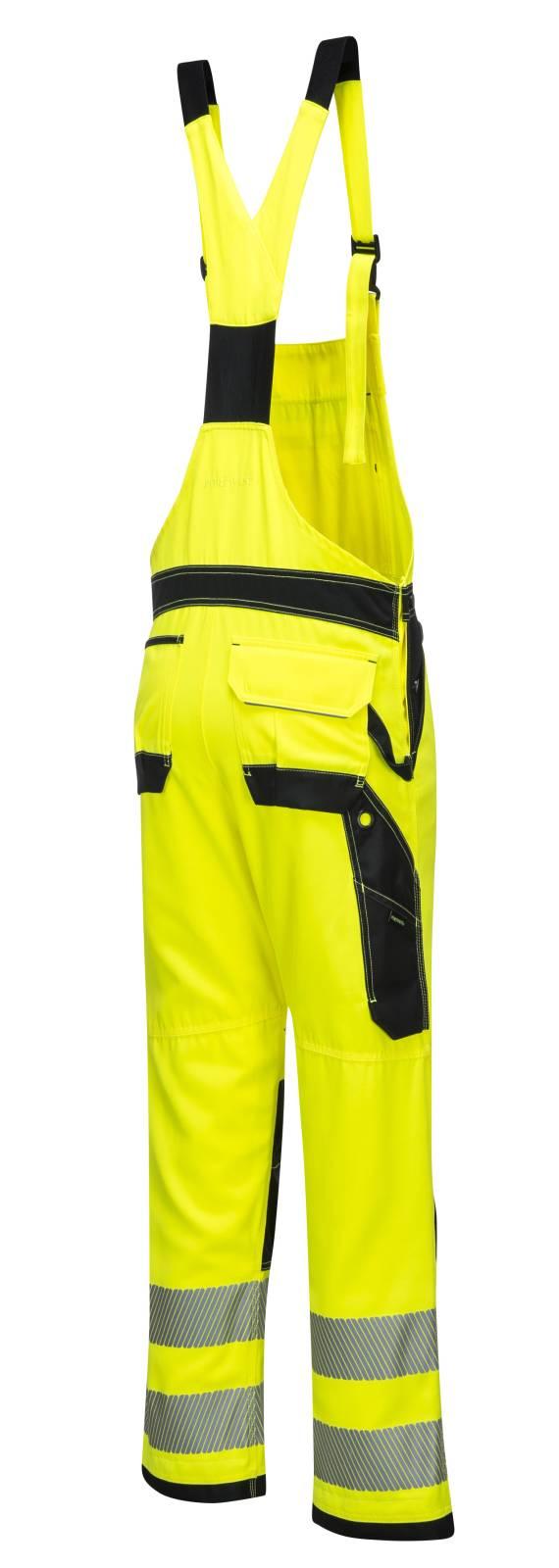 Portwest Am. Overalls PW344 geel-zwart(YB)