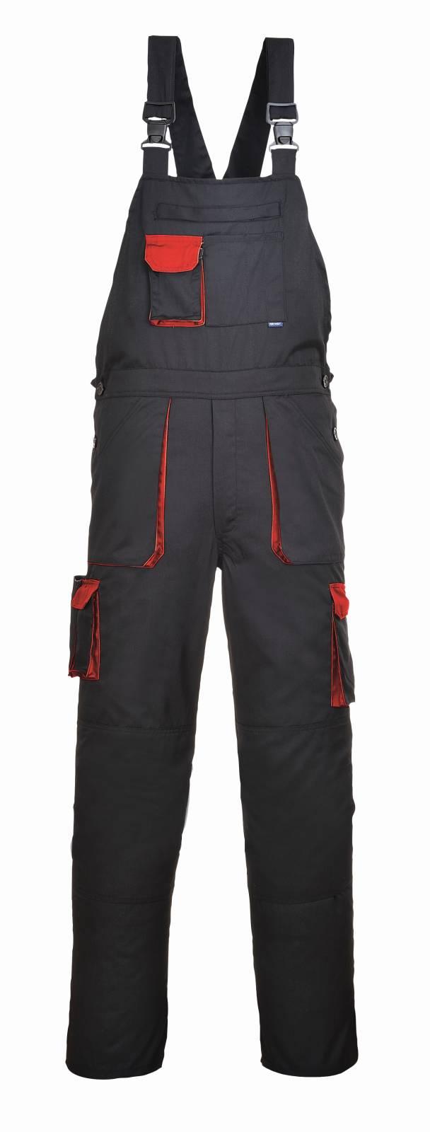 Portwest Am. Overalls TX12 zwart-rood(BD)