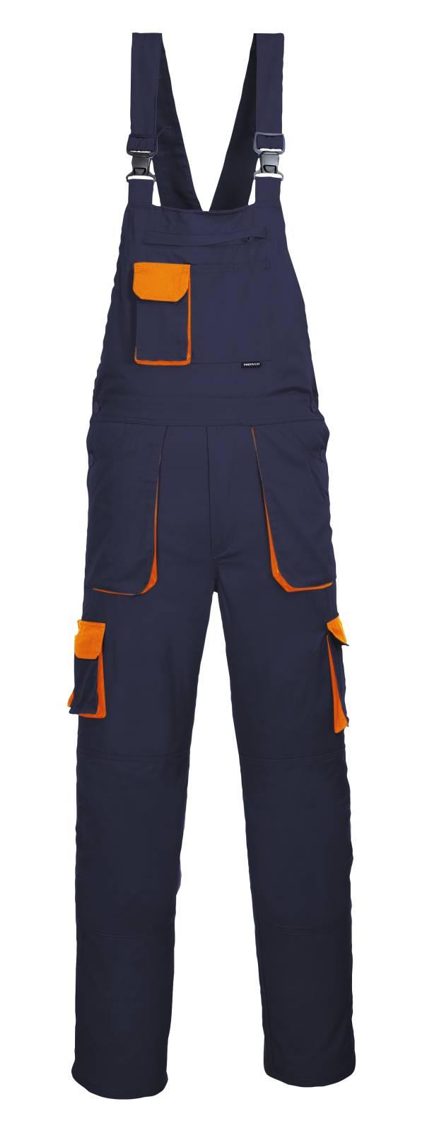 Portwest Amerikaanse overalls TX12 marineblauw-oranje(NO)