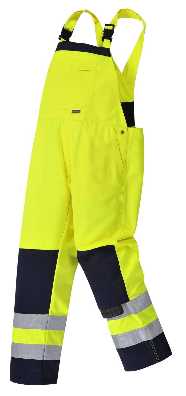 Portwest Am. Overalls TX72 geel-marineblauw(YN)