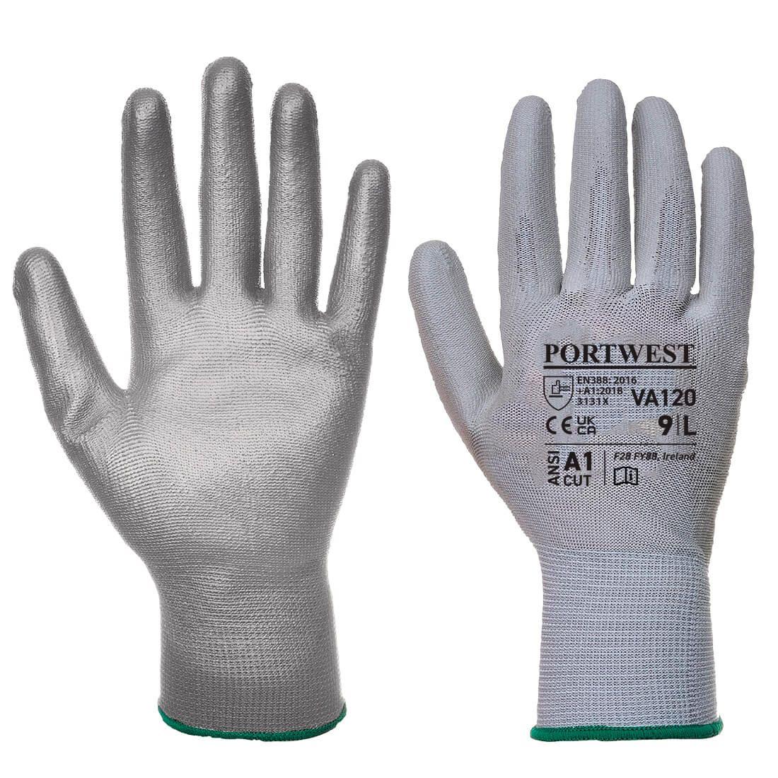 Portwest Handschoenen VA120 grijs(G7)