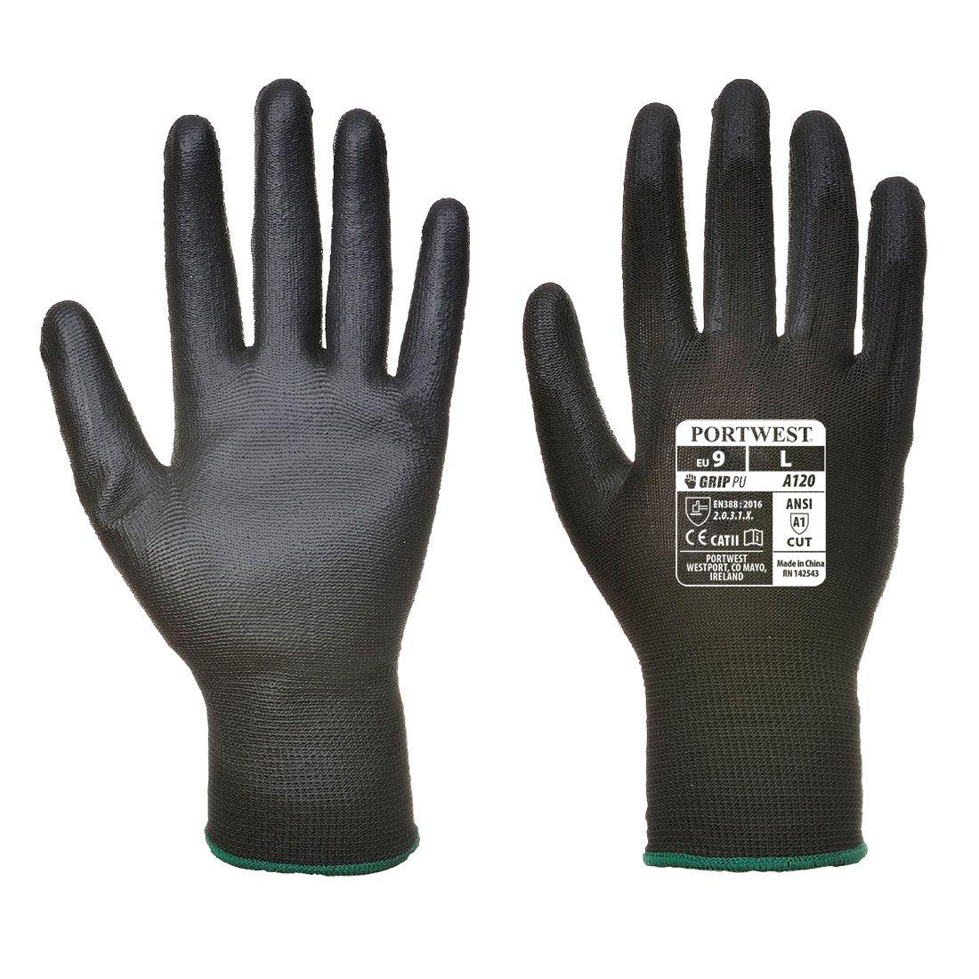 Portwest Handschoenen VA120 zwart(K8)