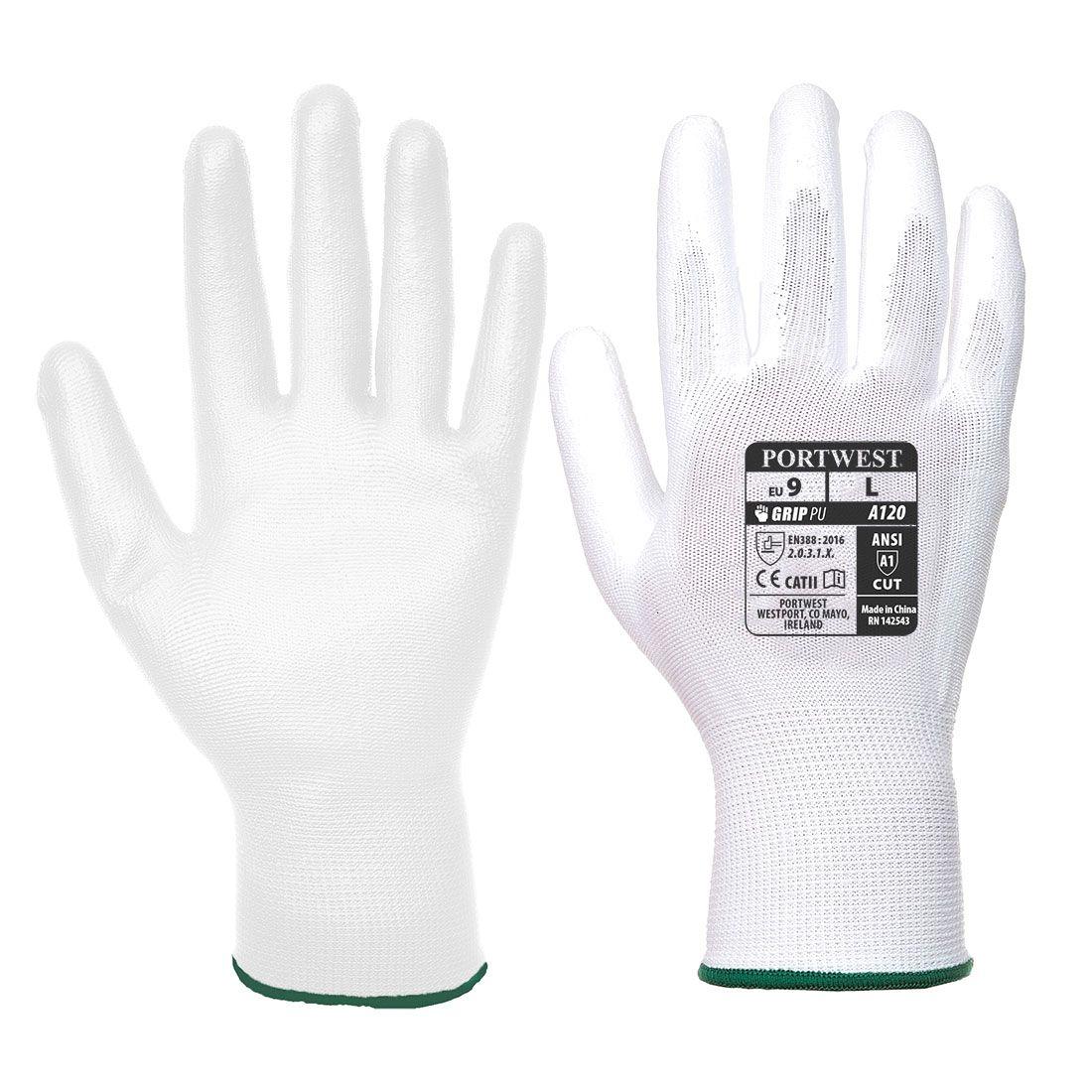 Portwest Handschoenen VA120 wit(W6)