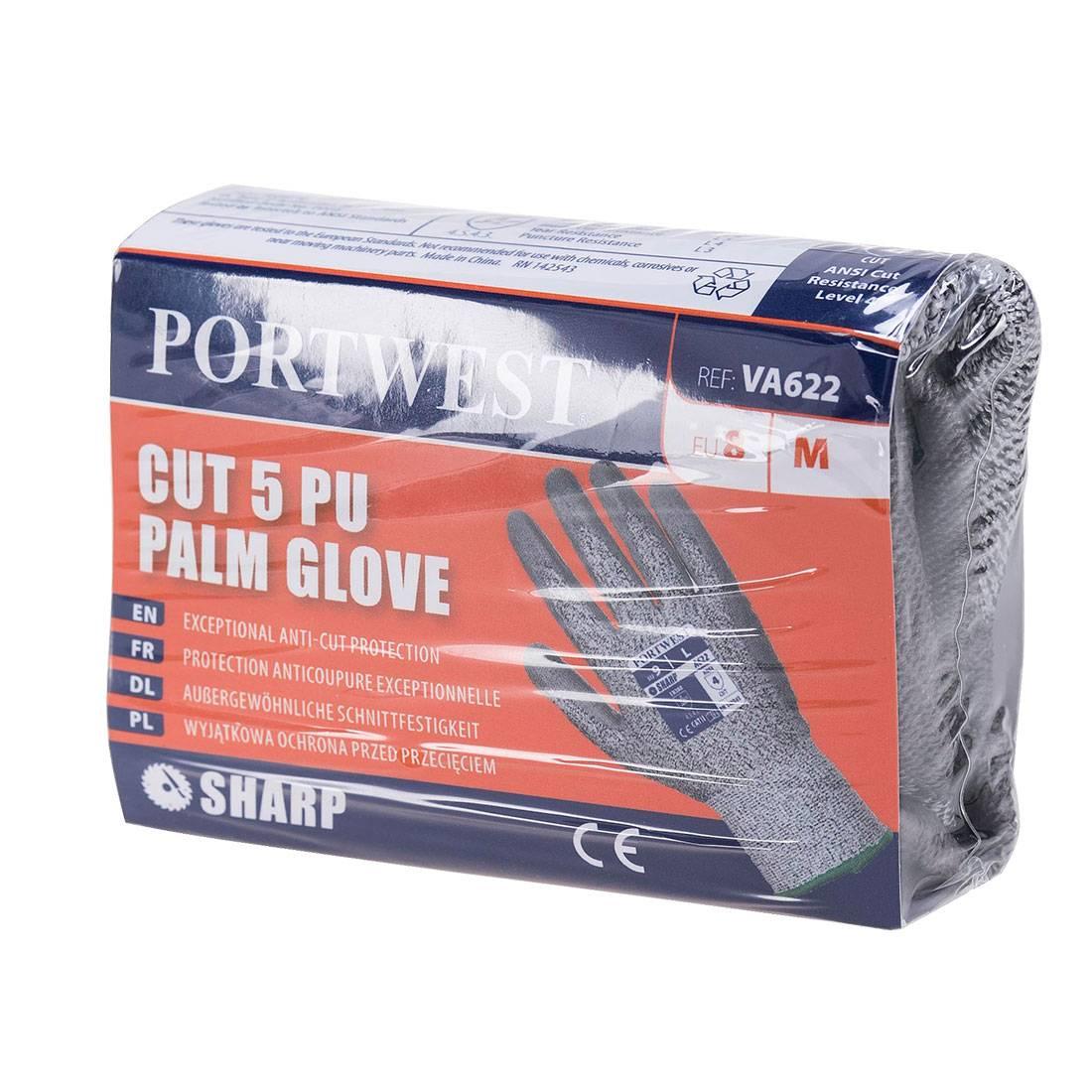 Portwest Handschoenen VA622 grijs(G7)