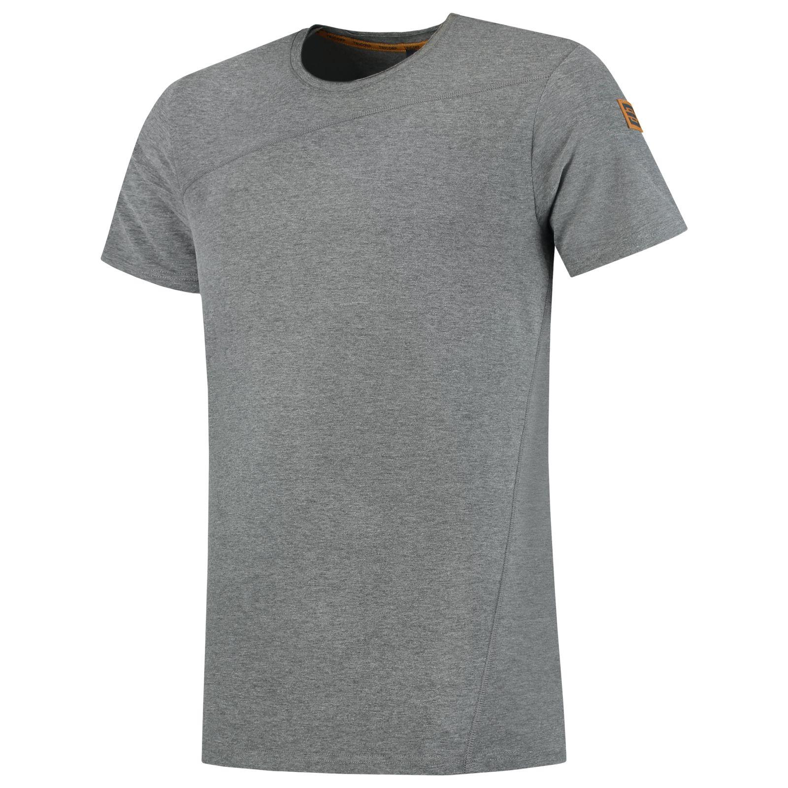 Tricorp Premium T-shirts 104002 Stretch steengrijs melange(Stonemel)