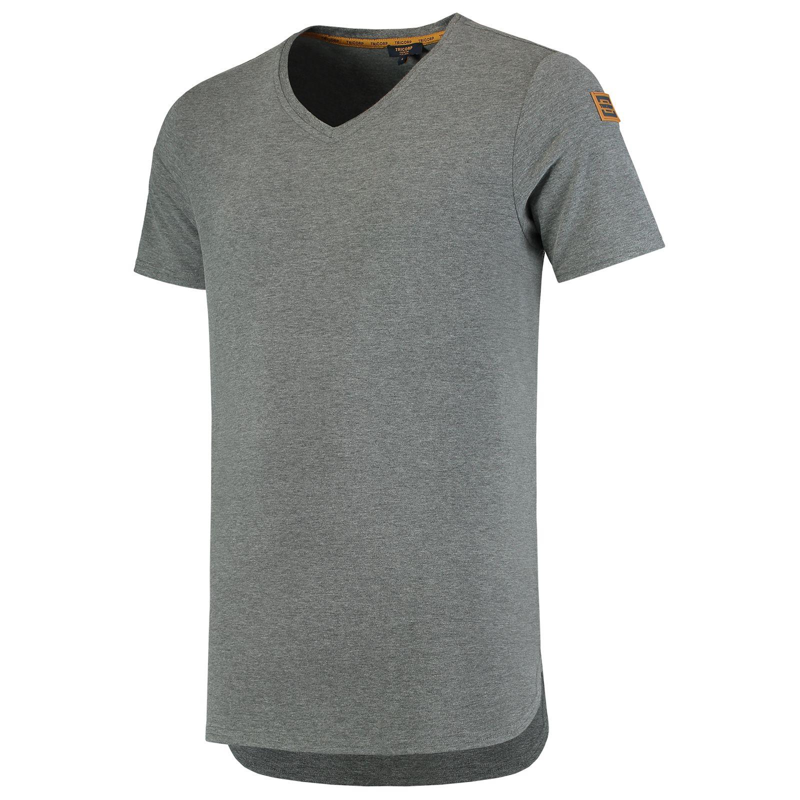 Tricorp Premium T-shirts 104003 steengrijs melange(Stonemel)