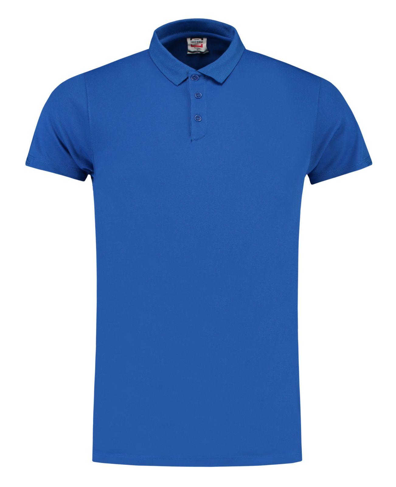 Tricorp Casual Poloshirts 201001-PBA180 koningsblauw(RoyalBlue)