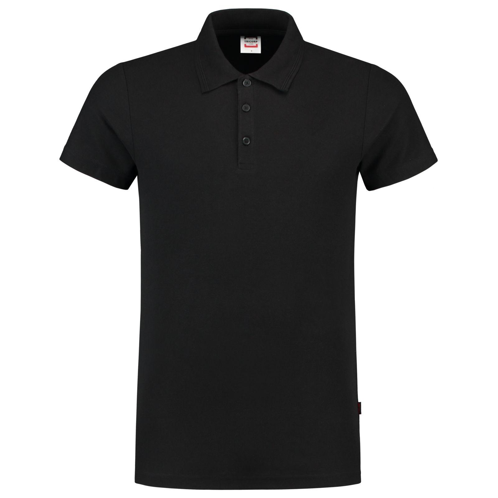 Tricorp Casual Kinderkleding Poloshirts 201016-PFF180 zwart(Black)