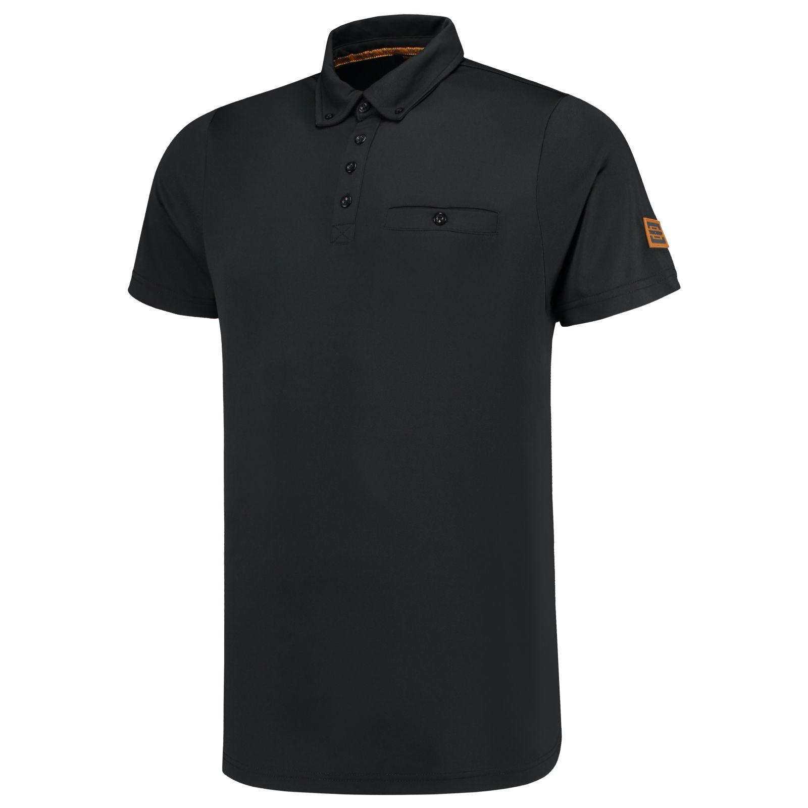 Tricorp Premium Poloshirts 204001 zwart(Black)