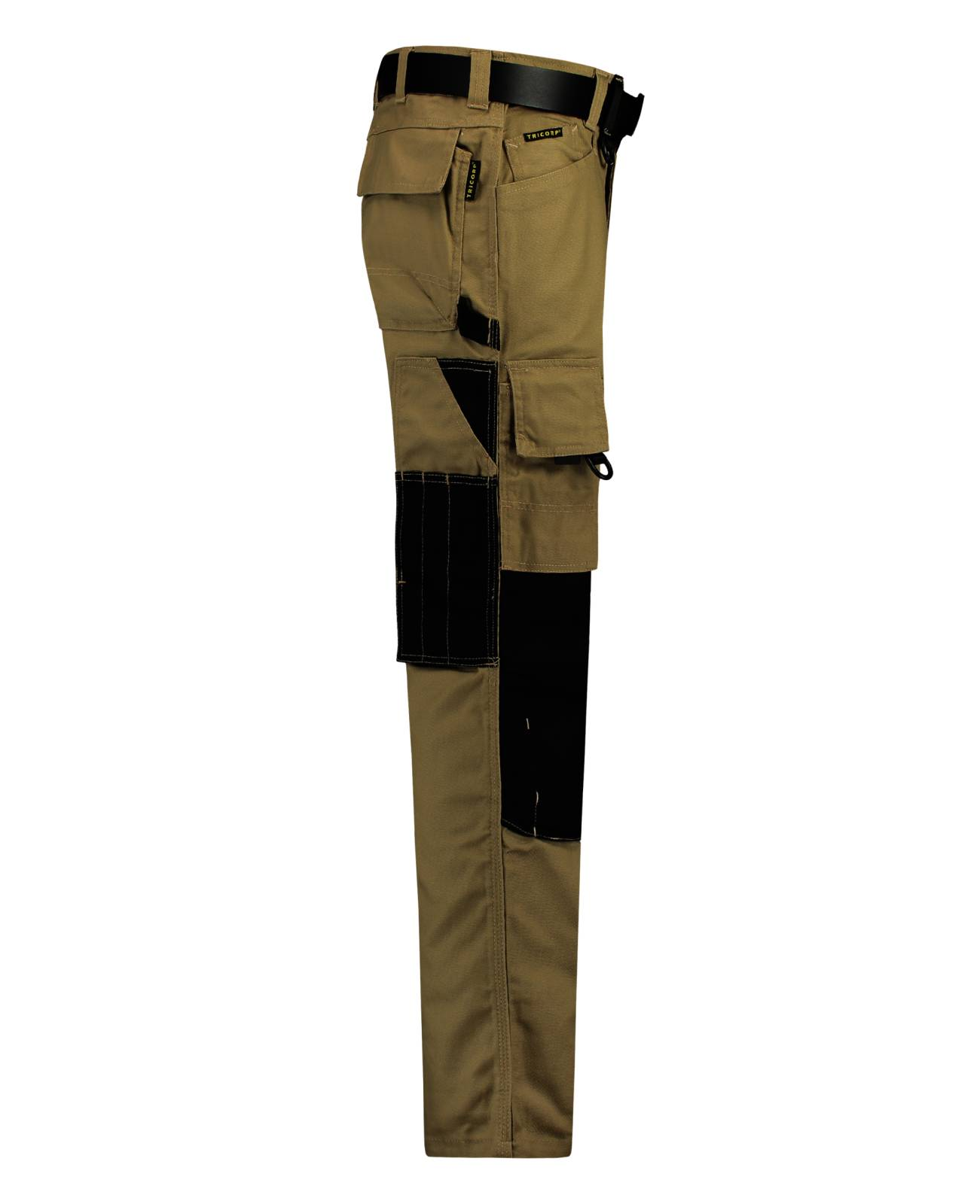 Tricorp Workwear Broeken 502009-TWC2000 khaki-zwart(KhakiBlack)