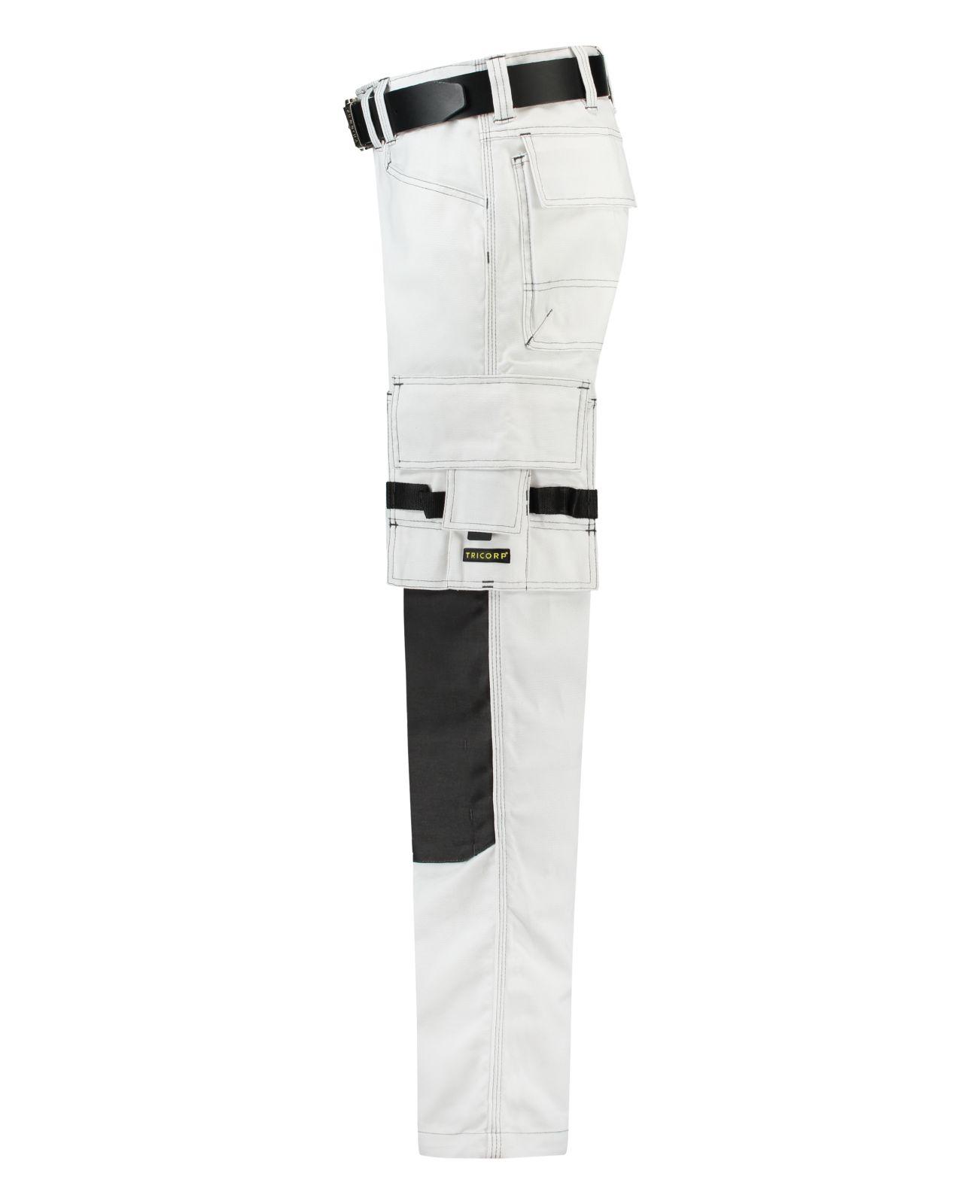 Tricorp Broeken 502009-TWC2000 wit-donkergrijs(WhiteDGrey)