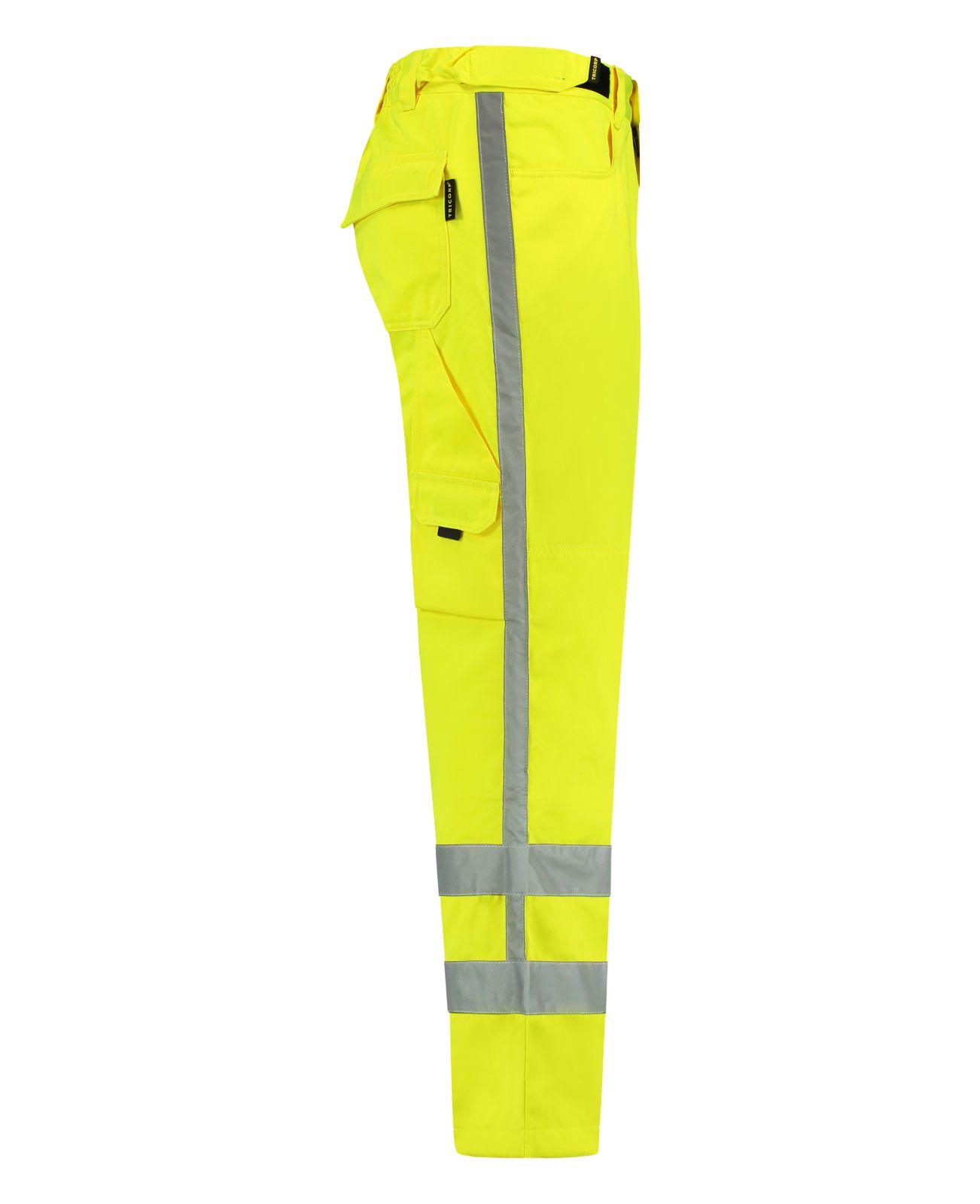 Tricorp Safety Broeken 503003-TWR3001 fluo-geel(Yellow)