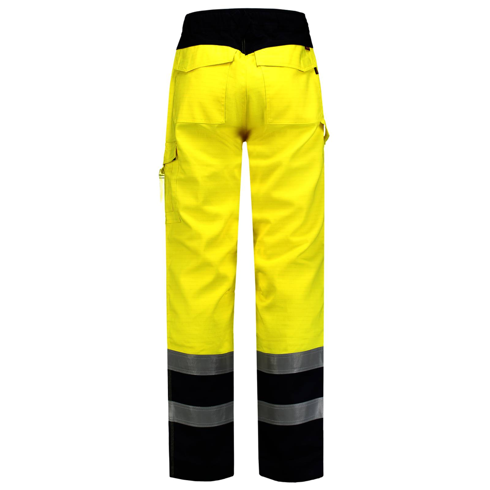 Tricorp Broeken 503004 Multinorm fluo geel-inktblauw(Yellowink)