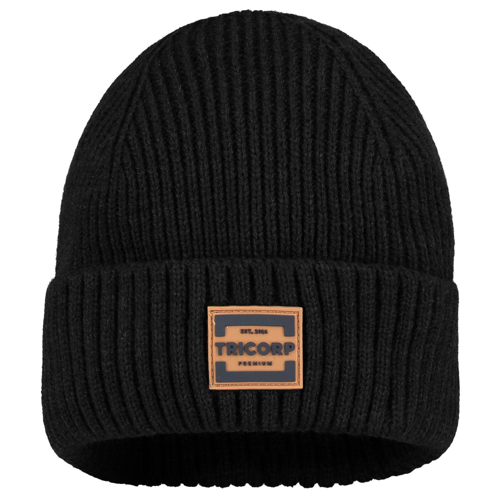 Tricorp Premium Mutsen 654002 Gebreid Acryl zwart(Black)