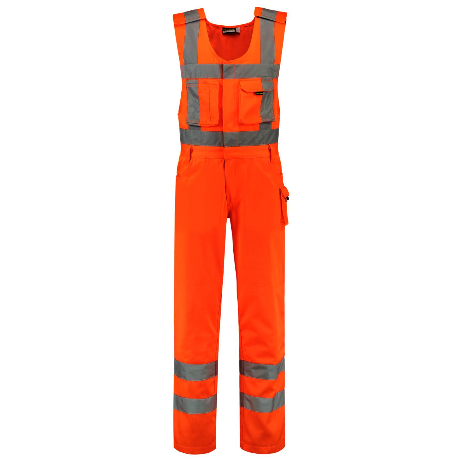 Tricorp Bodybroeken 753001-THR3001 Kniezakken Polyester- katoen fluo-oranje(Orange)